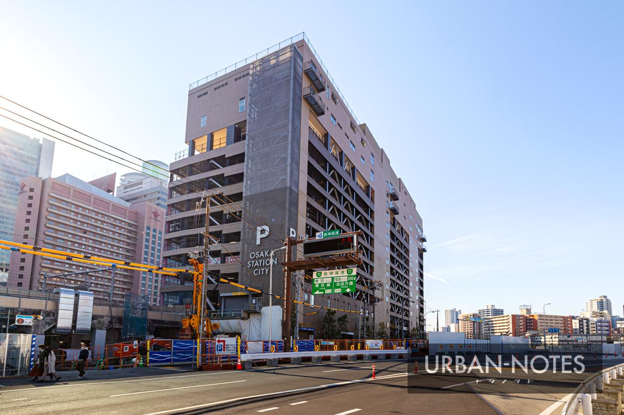 大阪ステーションシティ駐車場 2020年12月 03