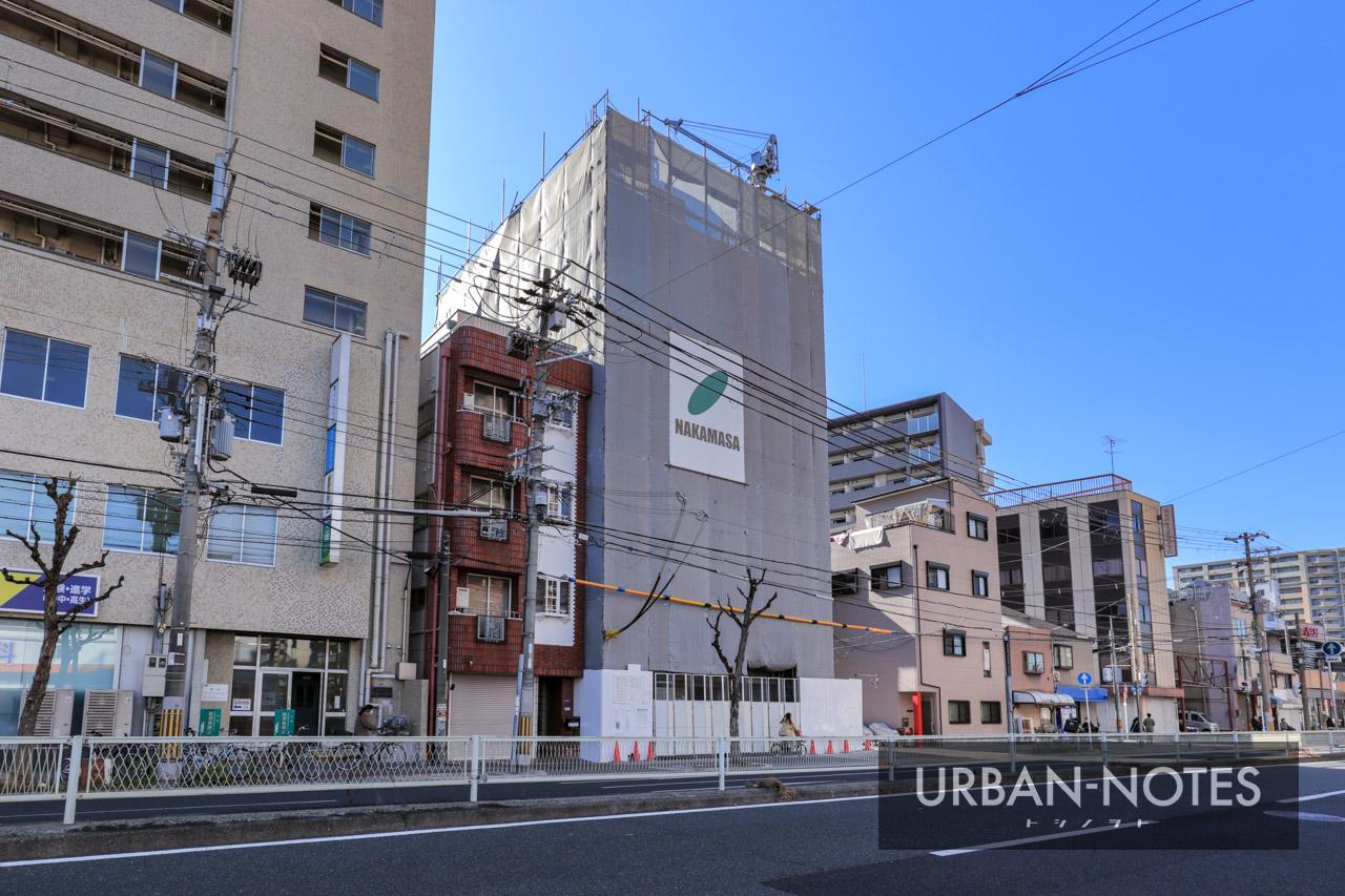 (仮称)大阪市福島区鷺洲3丁目 新築工事 2021年1月 01