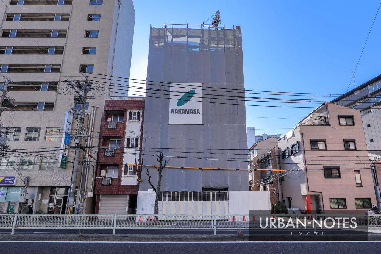 (仮称)大阪市福島区鷺洲3丁目 新築工事 2021年1月 02