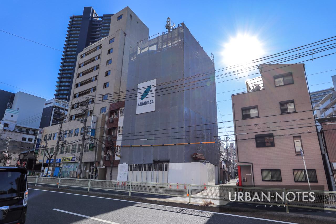 (仮称)大阪市福島区鷺洲3丁目 新築工事 2021年1月 03