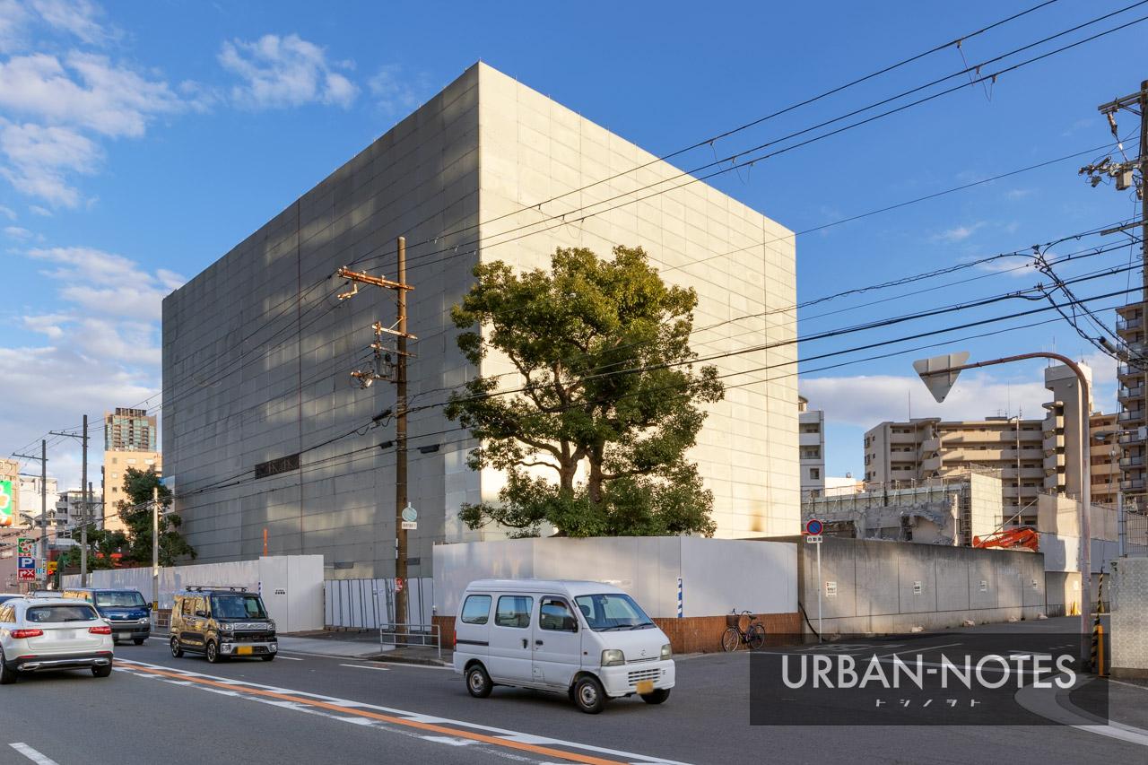 トーハン旧大阪支店 解体工事 2020年12月 01