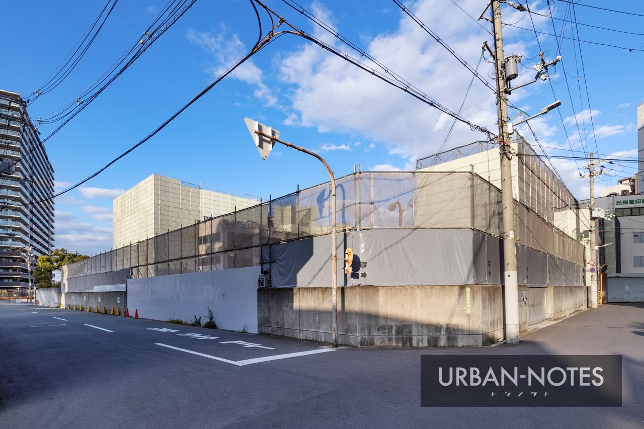 トーハン旧大阪支店 解体工事 2020年12月 03