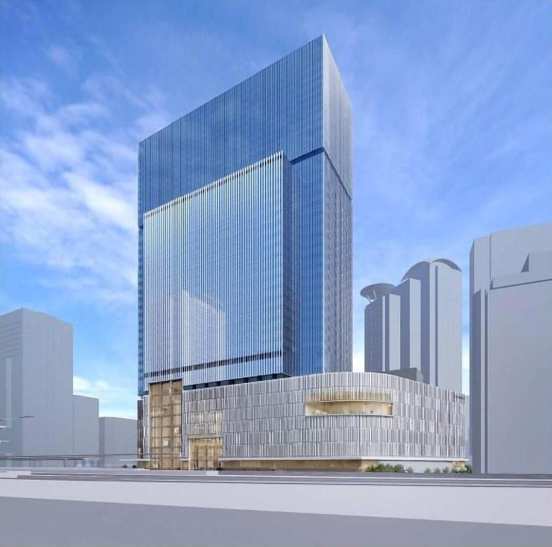 (仮称)梅田3丁目計画 完成イメージ図 01
