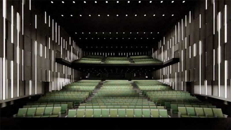 (仮称)梅田3丁目計画 MBS劇場 完成イメージ図