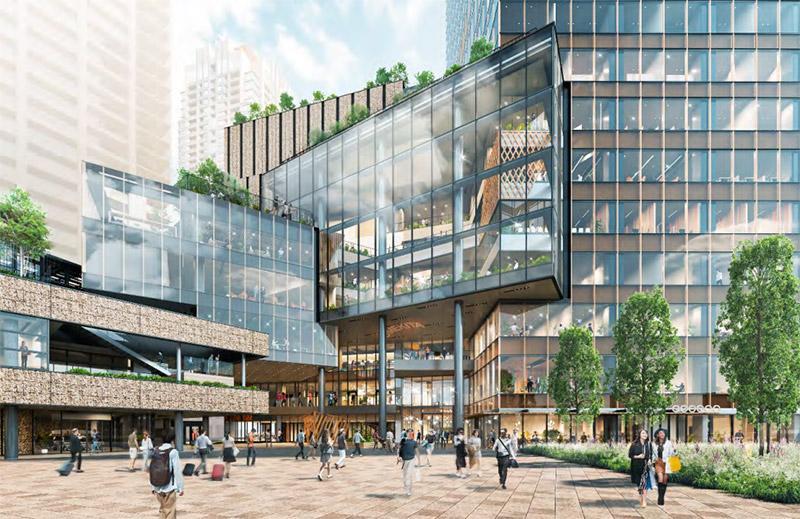 うめきた2期地区開発事業 北街区賃貸棟 完成イメージ図 02