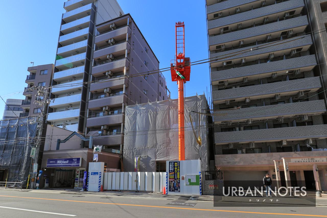 (仮称)福島区海老江2丁目PJ工事 2021年1月 01