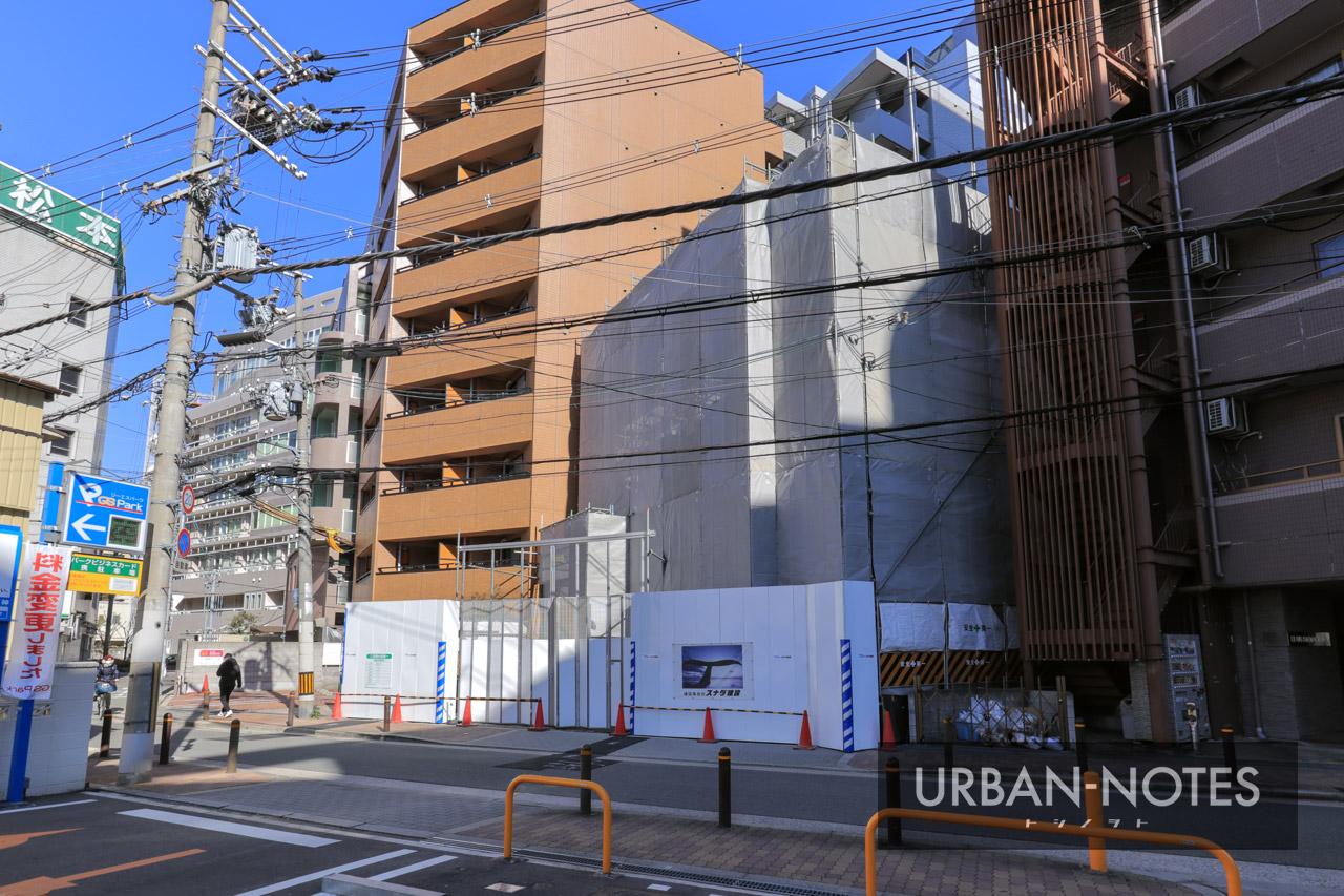 (仮称)福島区海老江2丁目PJ工事 2021年1月 03