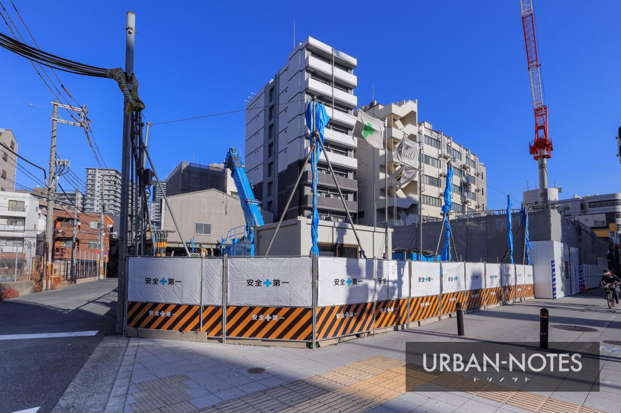 (仮称)大阪市福島区海老江5丁目プロジェクト 2021年1月 01