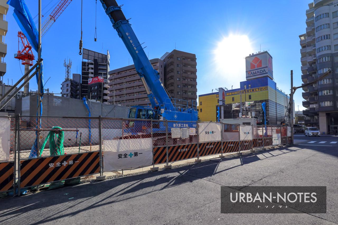 (仮称)大阪市福島区海老江5丁目プロジェクト 2021年1月 02