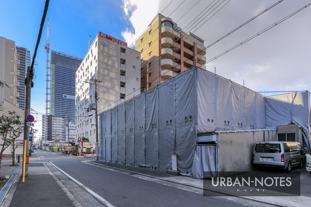 (仮称)福島区福島6丁目 新築工事 2021年1月 01