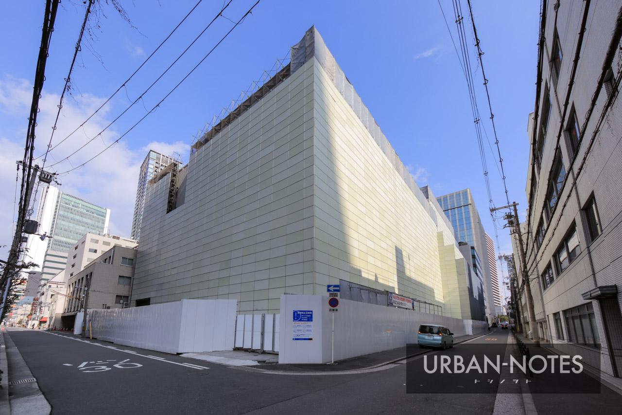 古河大阪ビル 本館・西館 解体工事 2021年1月 01