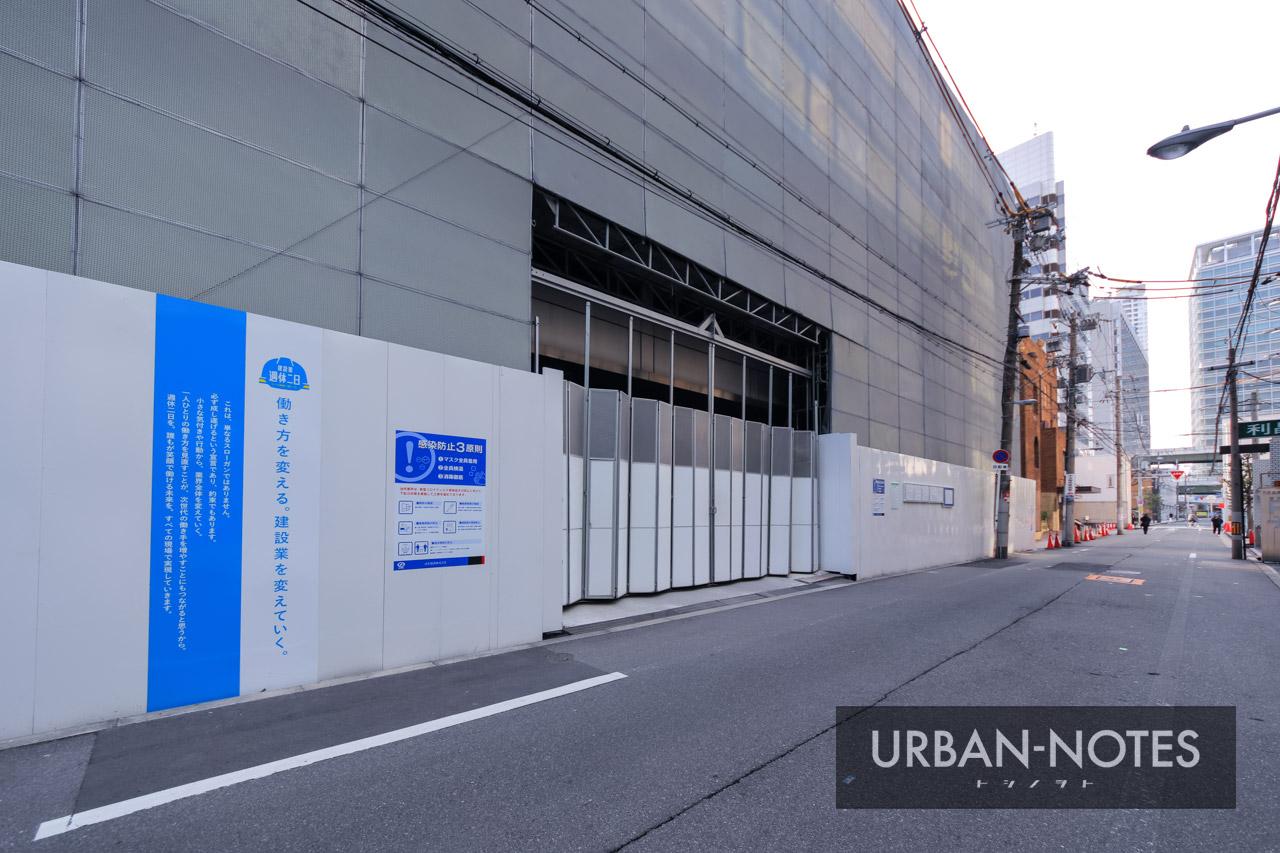 古河大阪ビル 本館・西館 解体工事 2021年1月 03