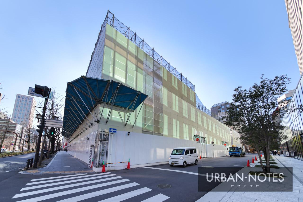 (仮称)御堂筋淡路町ビル 新築工事 2021年1月 02