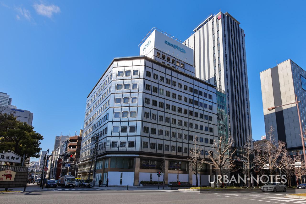御堂筋ダイビル建替計画 2021年1月 01