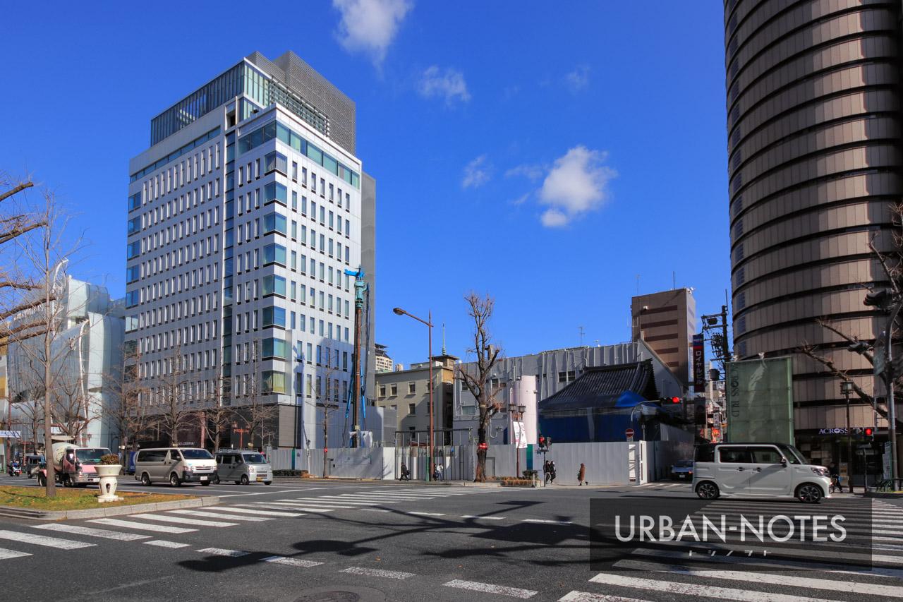 (仮称)三津寺ホテルプロジェクト新築工事 2021年2月 01