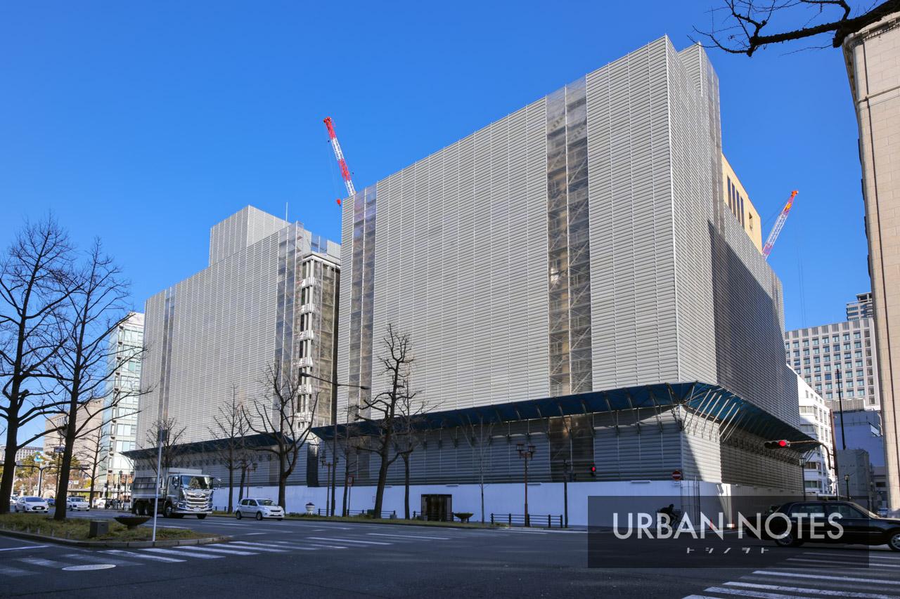 淀屋橋駅東地区都市再生事業 2021年1月 01