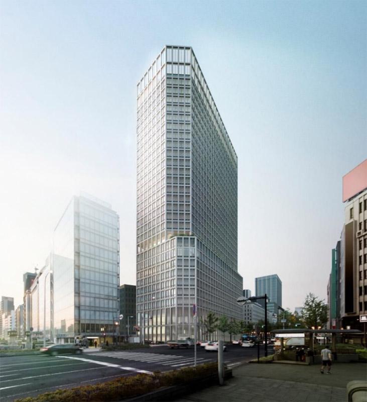 淀屋橋駅東地区都市再生事業 完成イメージ図