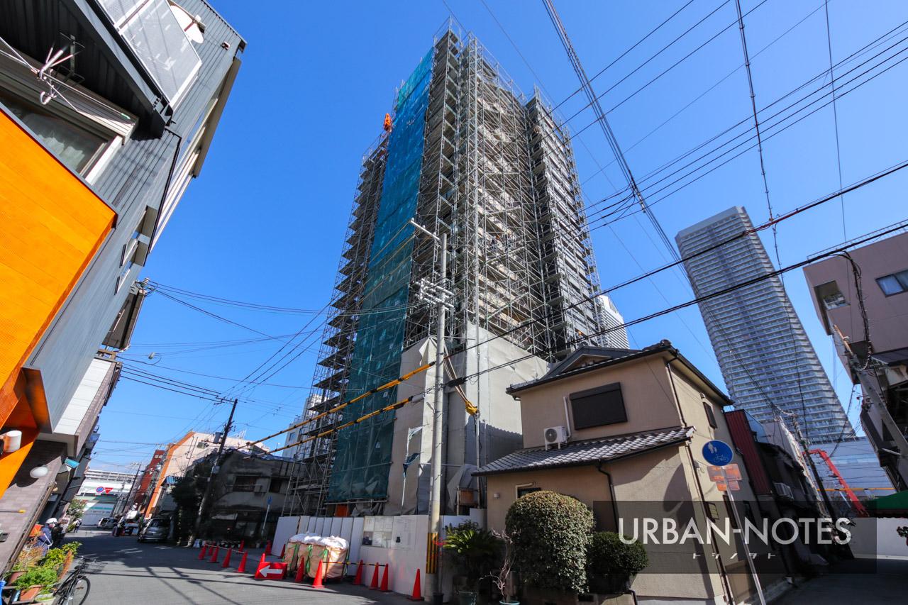 浅井建物 大阪市港区弁天4丁目新築工事 2021年3月 02
