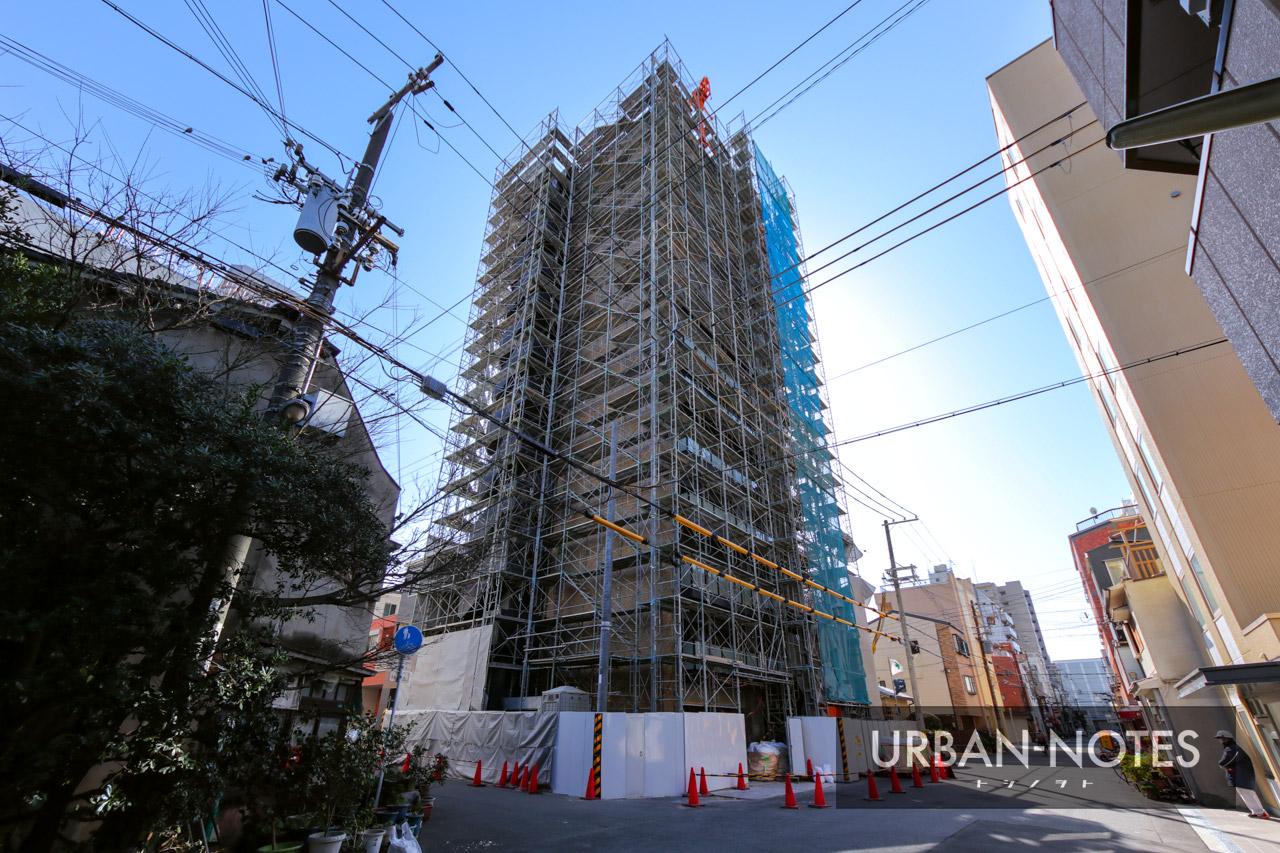 浅井建物 大阪市港区弁天4丁目新築工事 2021年3月 03