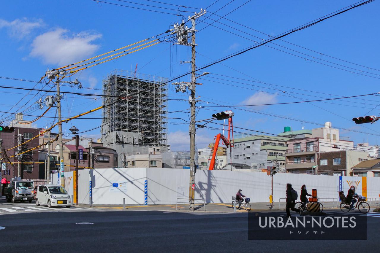浅井建物 大阪市港区弁天4丁目新築工事 2021年3月 04