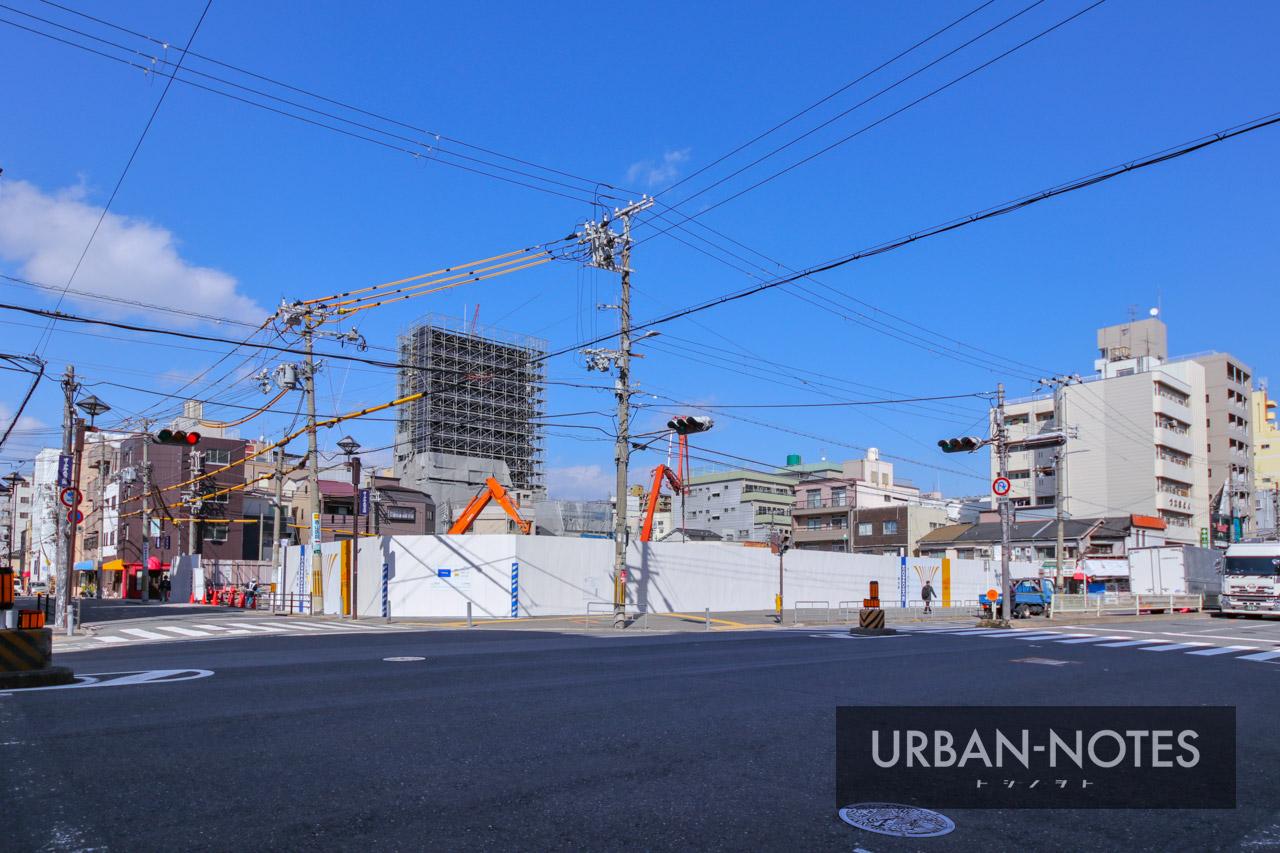 (仮称)港区弁天4丁目集合住宅 新築工事 2021年3月 01