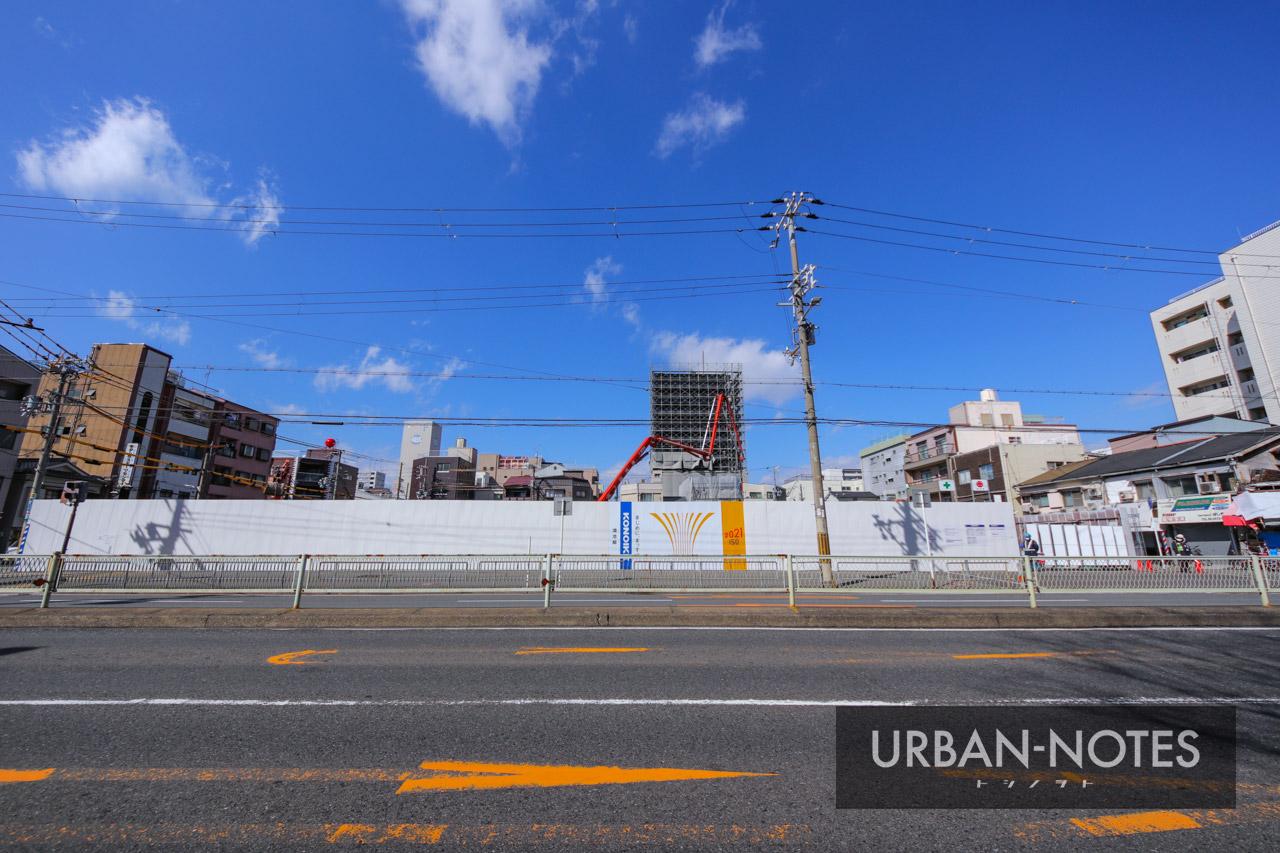 (仮称)港区弁天4丁目集合住宅 新築工事 2021年3月 02