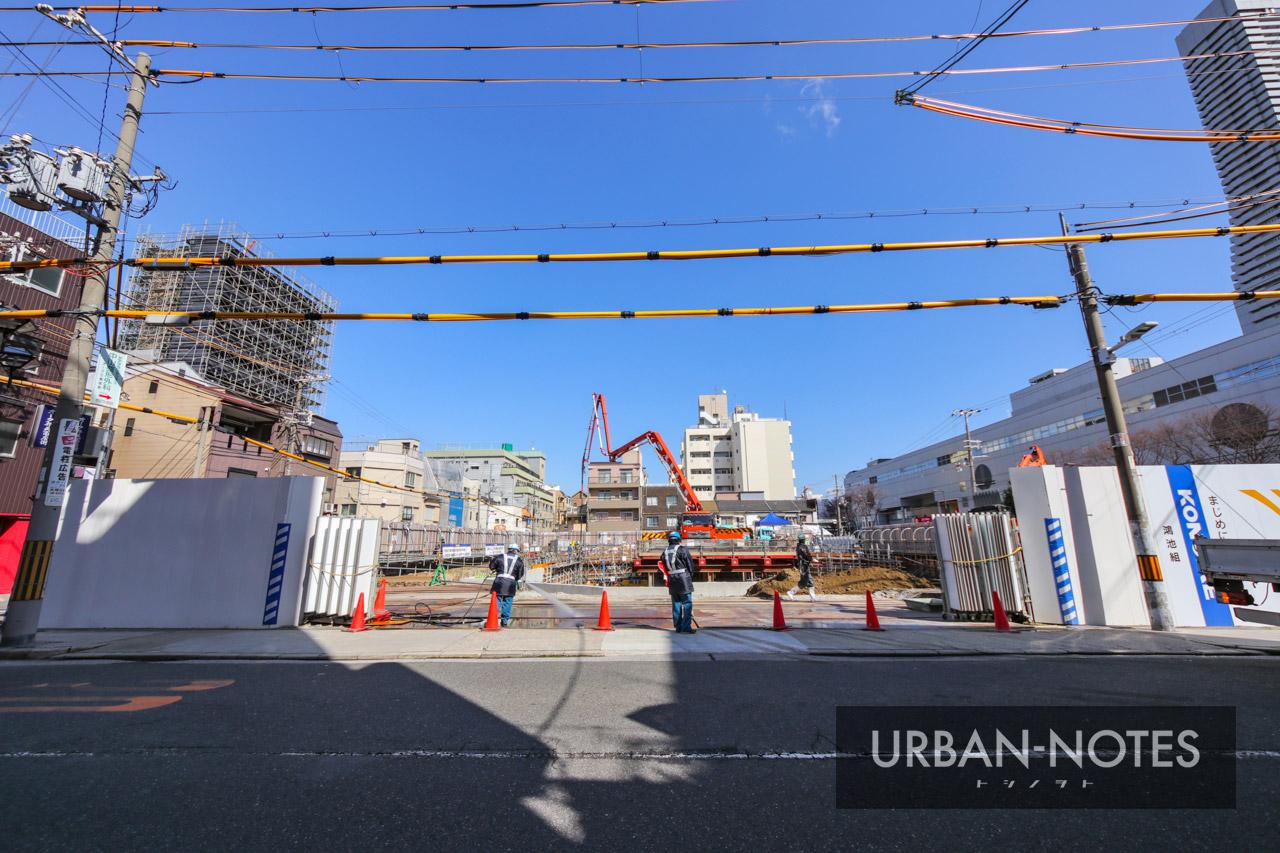 (仮称)港区弁天4丁目集合住宅 新築工事 2021年3月 03