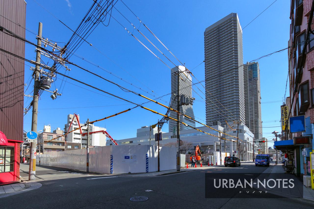 (仮称)港区弁天4丁目集合住宅 新築工事 2021年3月 04