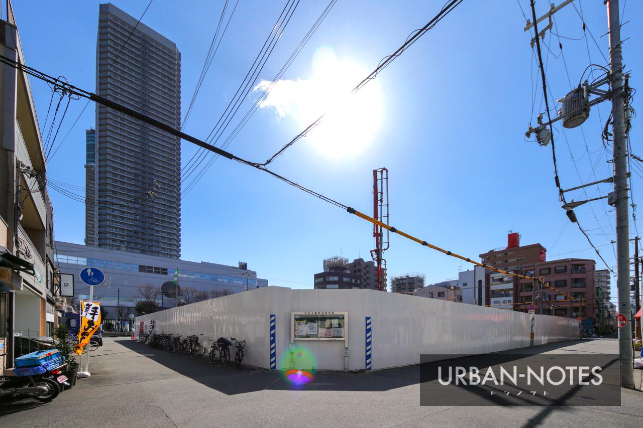 (仮称)港区弁天4丁目集合住宅 新築工事 2021年3月 05