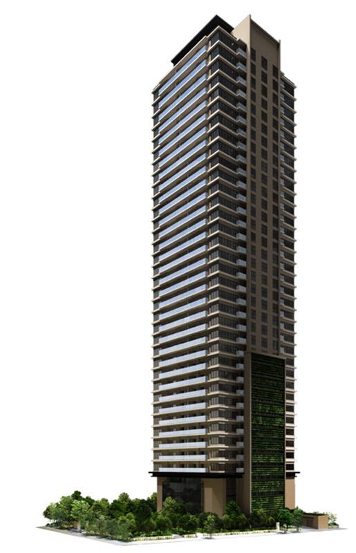 グランドメゾン上町一丁目タワー 完成イメージ図