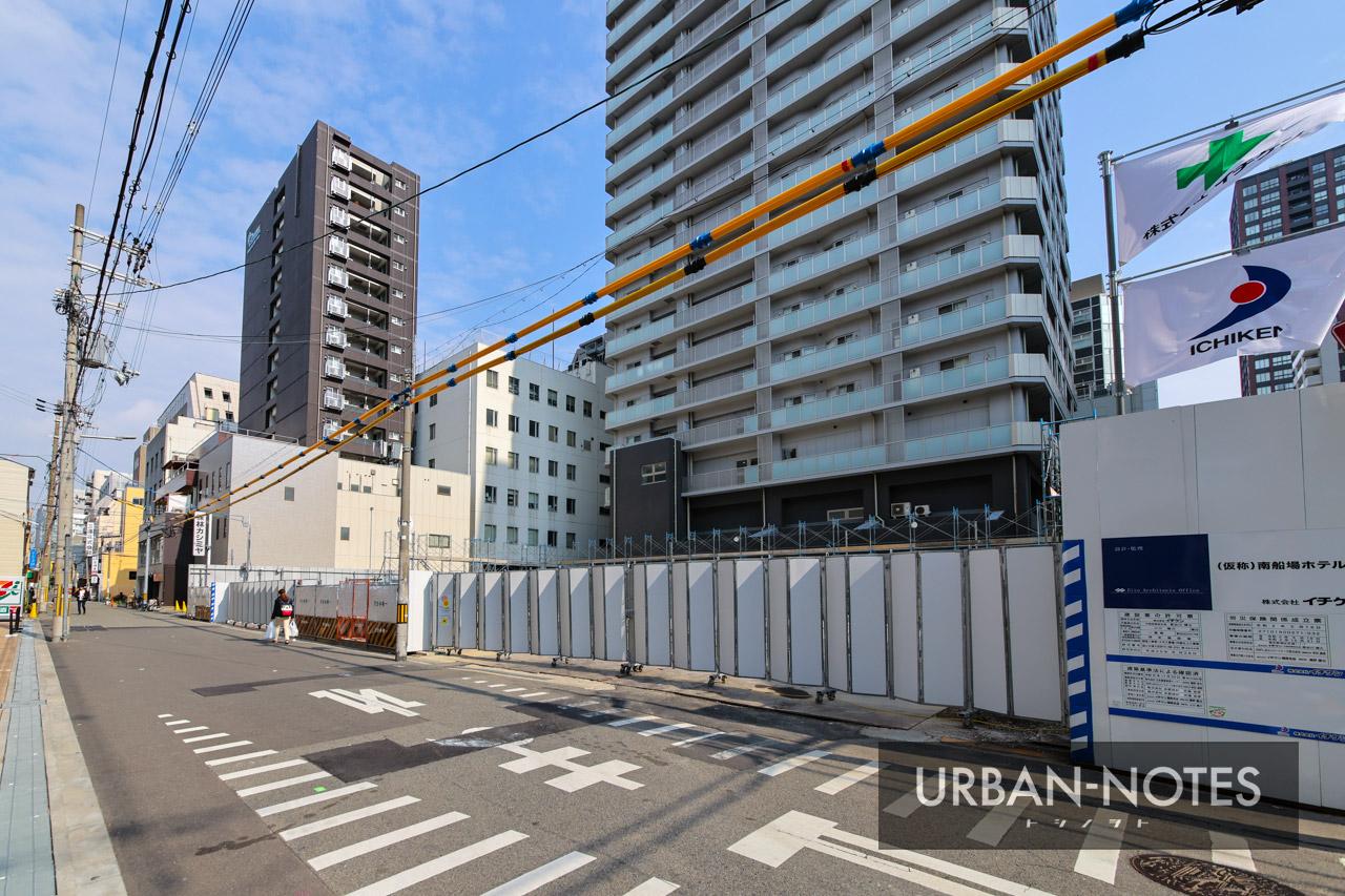 (仮称)南船場ホテル 新築計画 2021年2月 02
