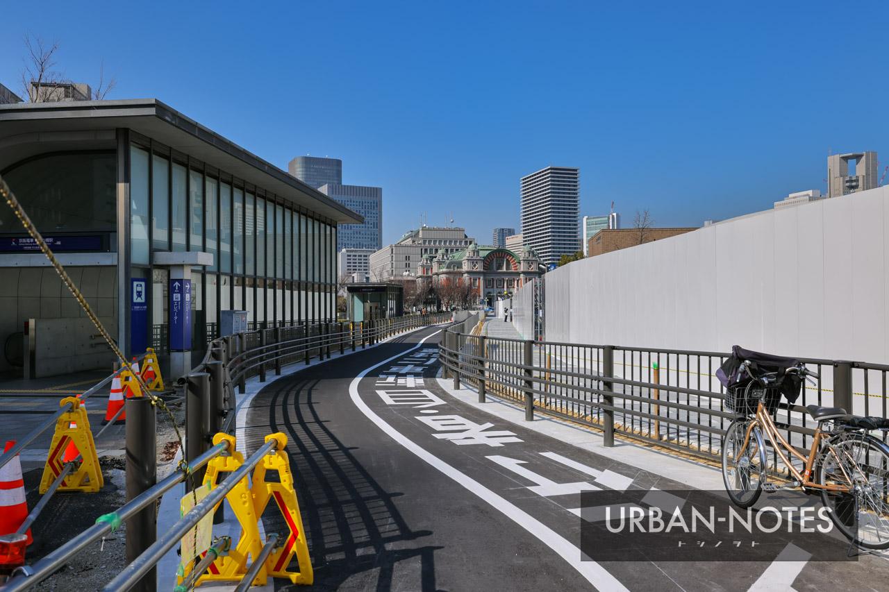 中之島通 歩行者空間化(公園化)整備 2021年2月 02