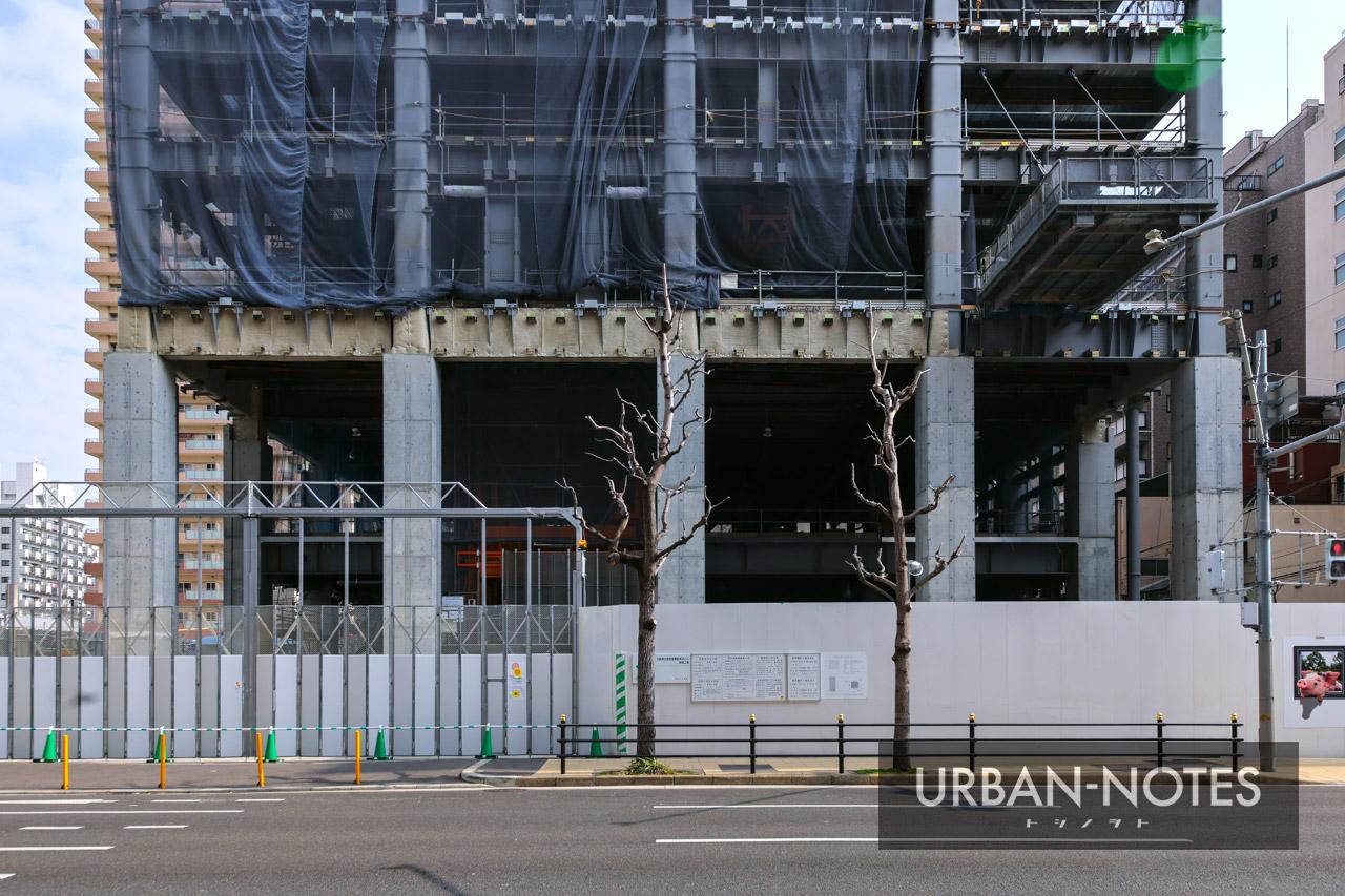 大阪厚生信用金庫新本店ビル 2021年2月 04