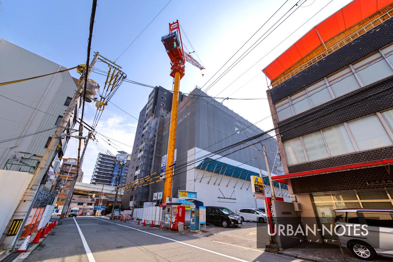 (仮称)プレサンス北久宝寺町1丁目 新築工事 2021年2月 01