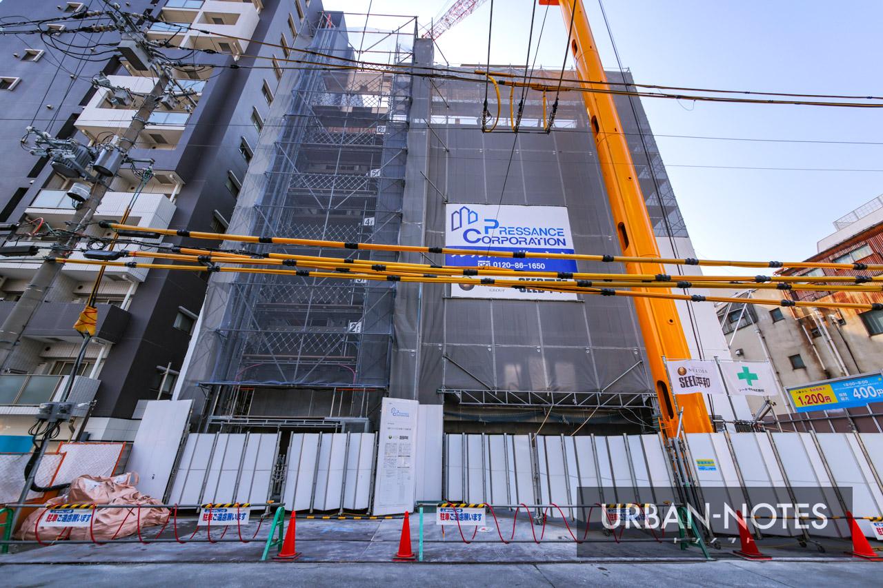 (仮称)プレサンス北久宝寺町1丁目 新築工事 2021年2月 02