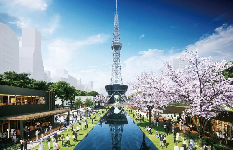 久屋大通公園整備運営事業 Hisaya-odori Park 完成イメージ図