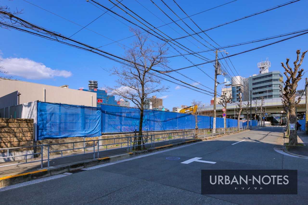 (仮称)医誠会国際総合病院 新築工事 北敷地 2021年3月 06