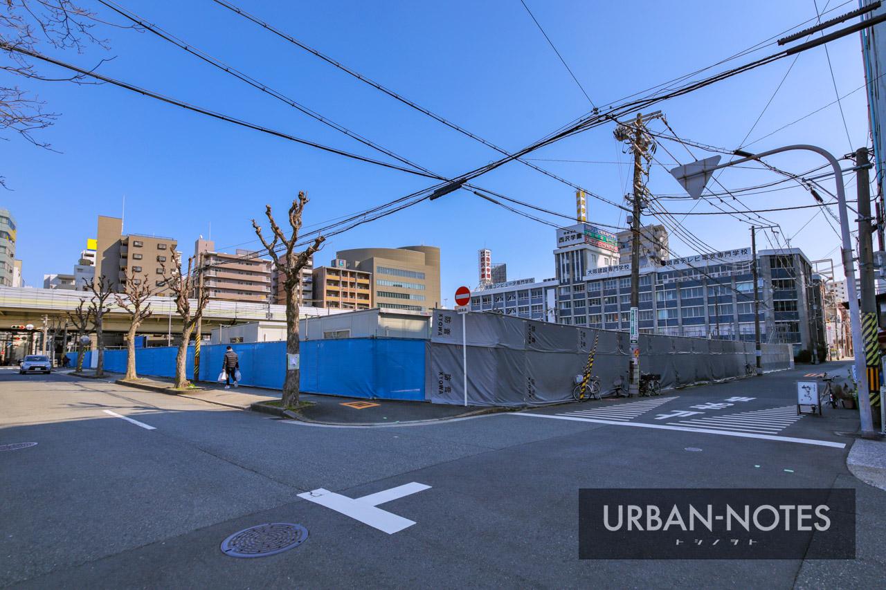 (仮称)医誠会国際総合病院 新築工事 南敷地 2021年3月 01