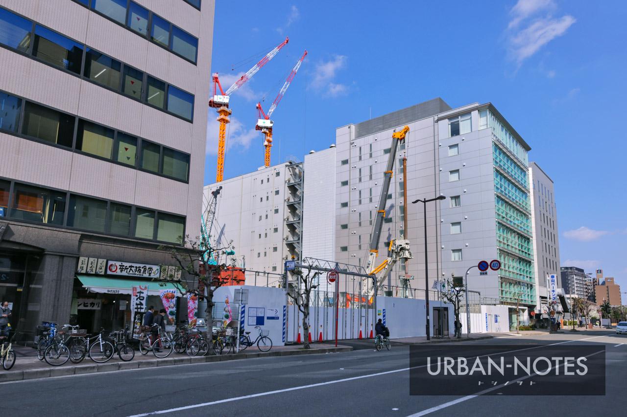 新大阪地区事務所ビル新築他工事 2021年3月 01