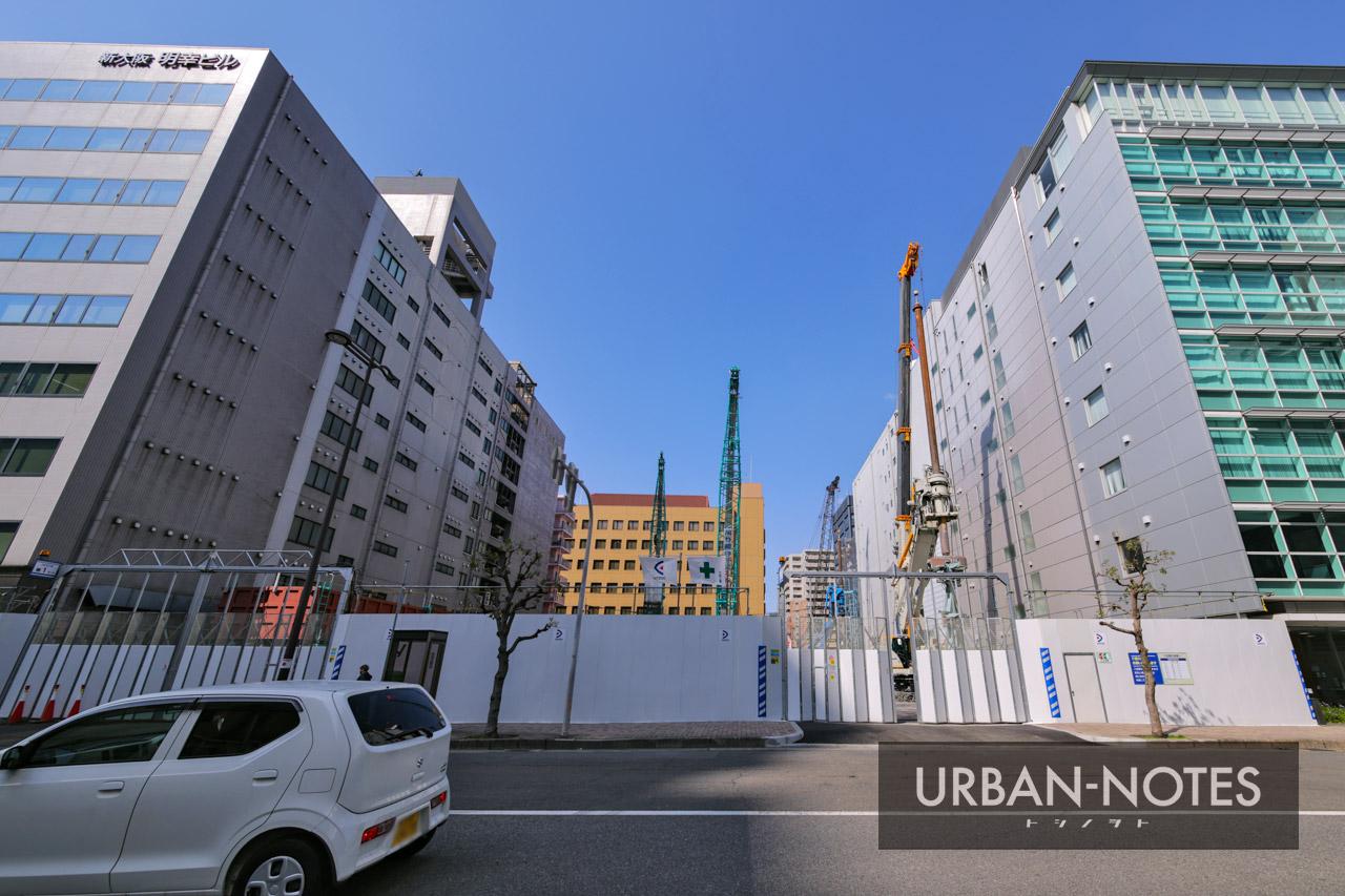 新大阪地区事務所ビル新築他工事 2021年3月 02