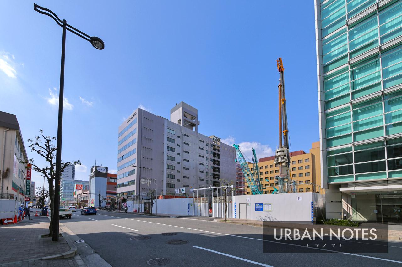 新大阪地区事務所ビル新築他工事 2021年3月 03