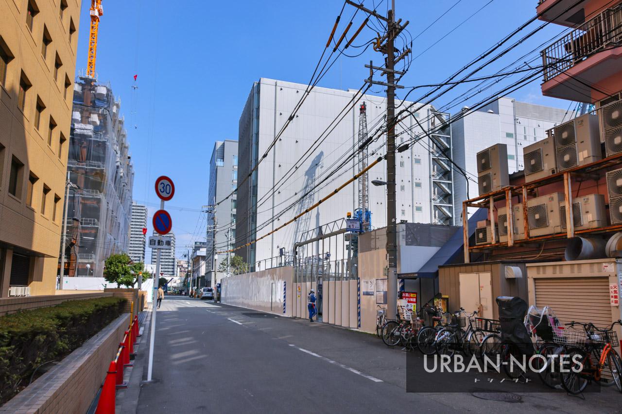 新大阪地区事務所ビル新築他工事 2021年3月 04