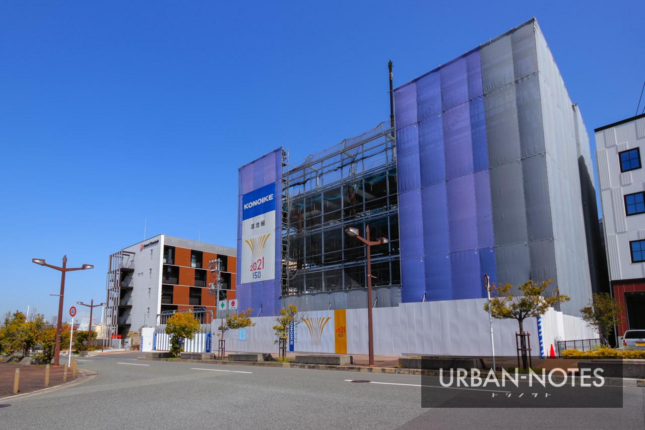 (仮称)KONOIKEテクノセンター新築工事 2021年4月 01