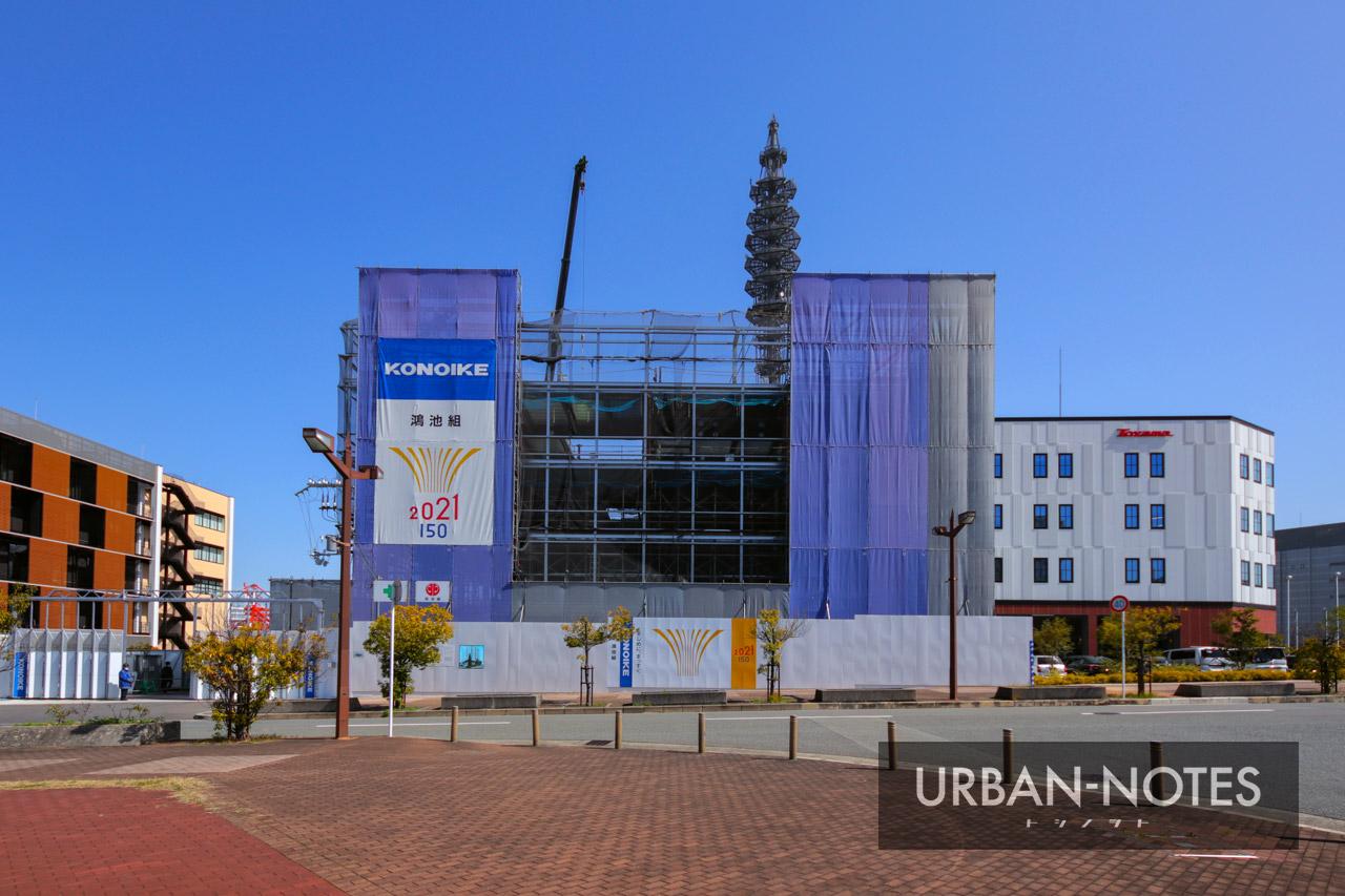 (仮称)KONOIKEテクノセンター新築工事 2021年4月 02