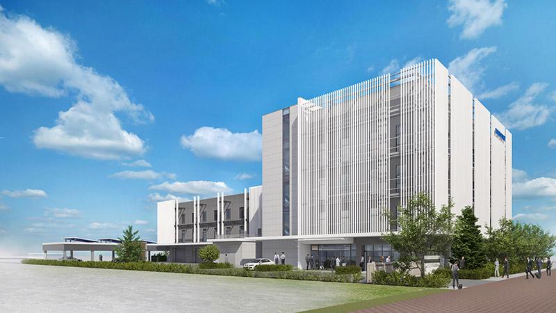 (仮称)KONOIKEテクノセンター新築工事 完成イメージ図