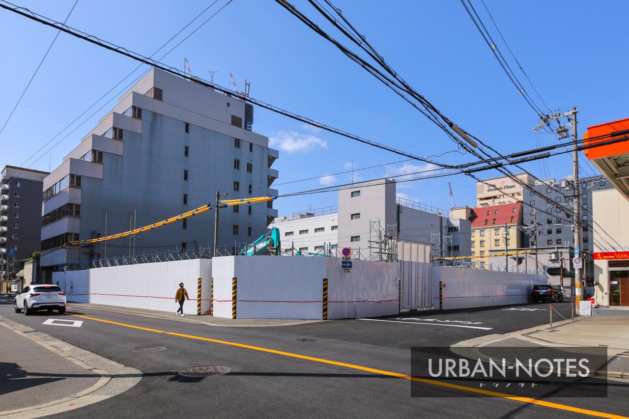 KTVパーキングビル解体工事 2021年3月 01