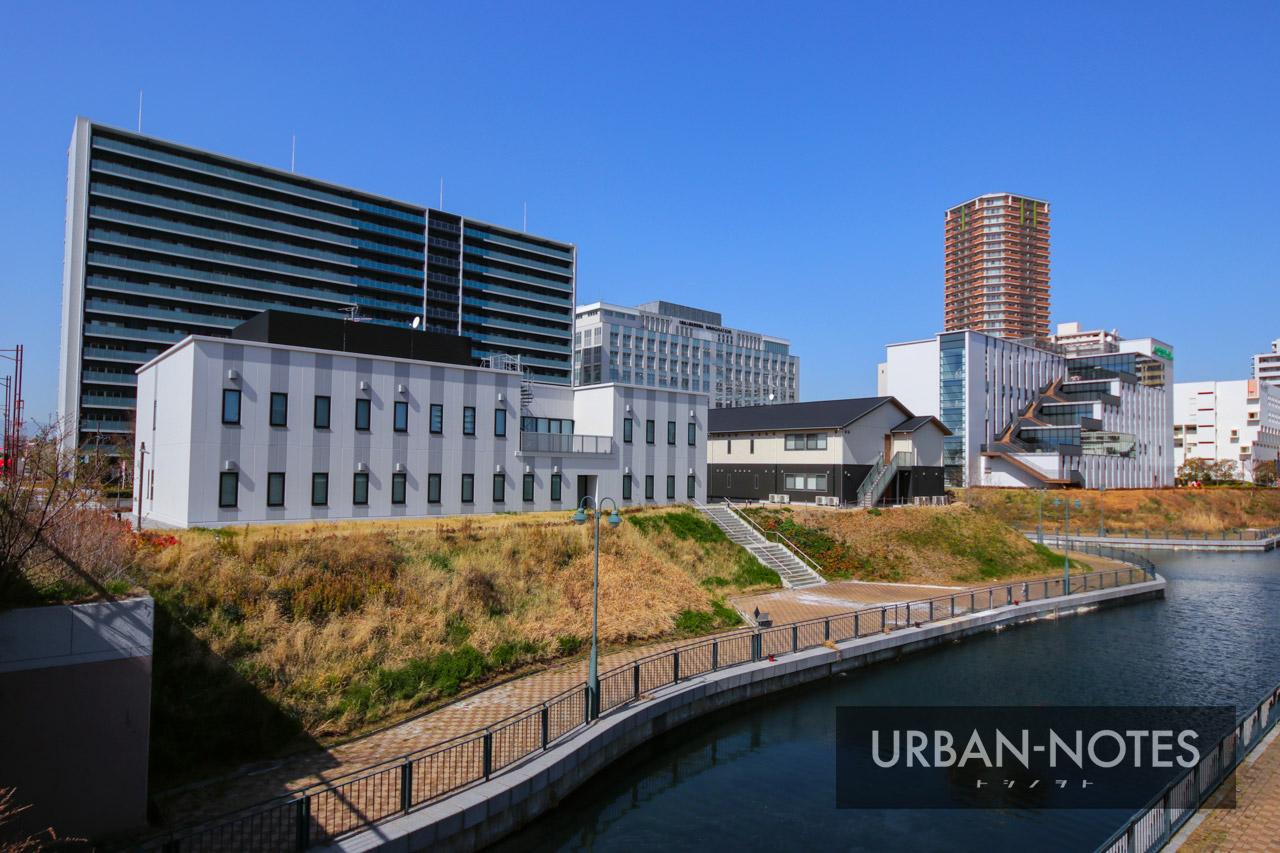 森ノ宮医療大学と咲洲キャナル 2021年4月