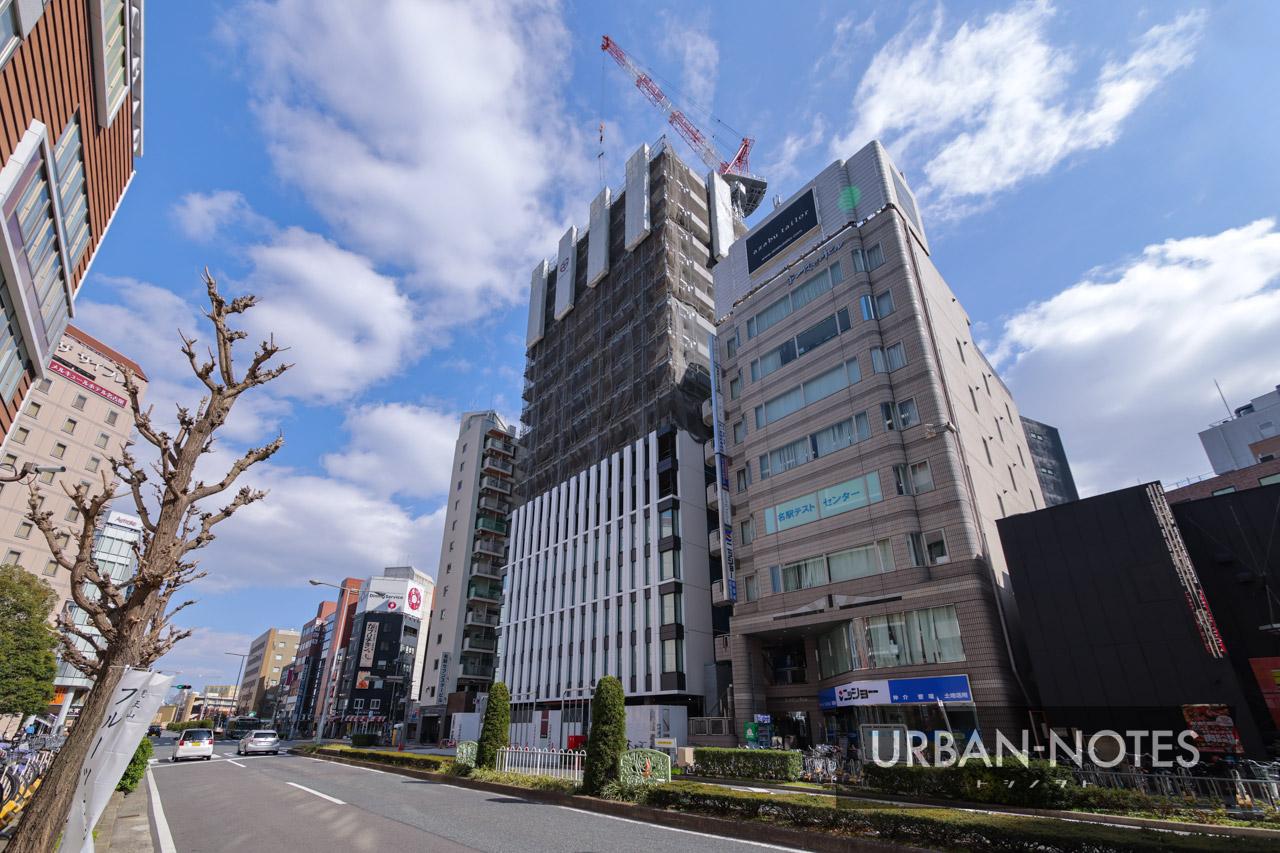(仮称)名古屋駅前モンブランホテル 2021年3月 01