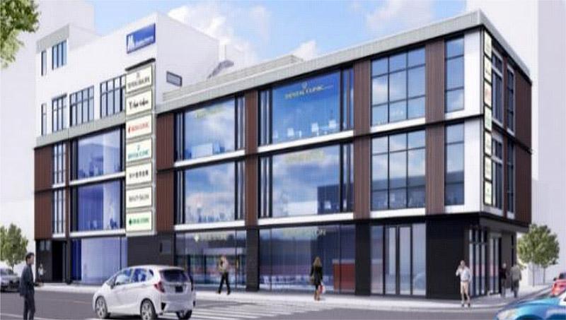 Osaka Metro 天神橋筋六丁目ビル 完成イメージ図