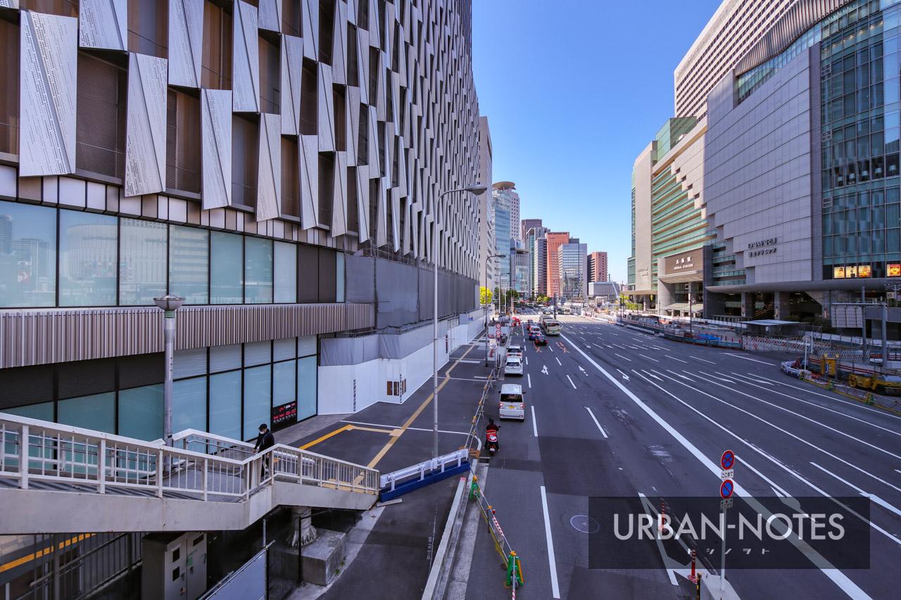 大阪梅田ツインタワーズ・サウス (梅田1丁目1番地計画) 2021年4月 04